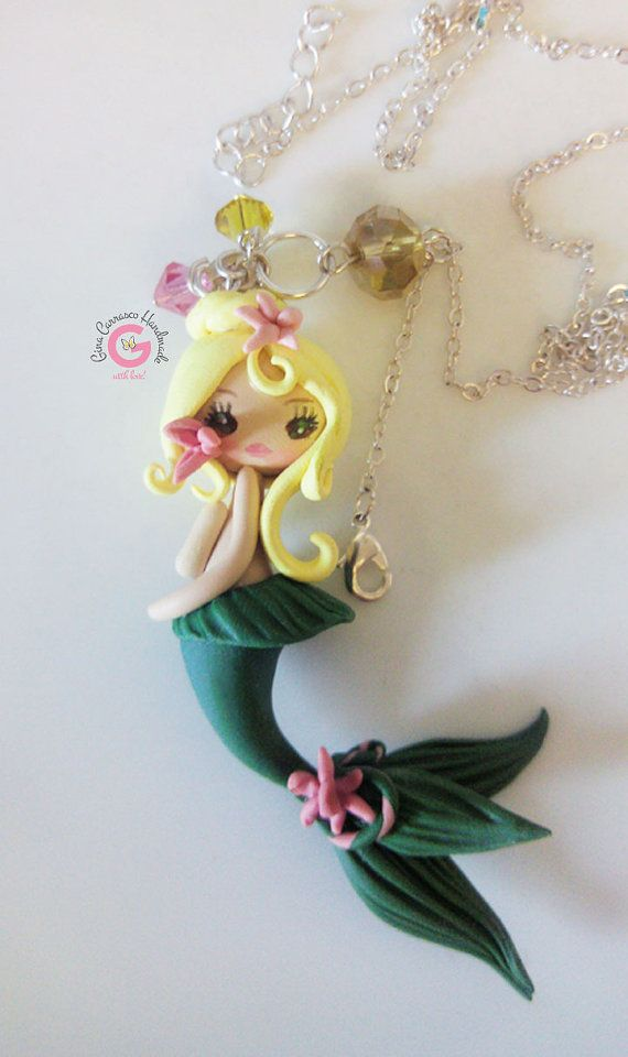 Hey, I found this really awesome Etsy listing at https://www.etsy.com/listing/191456048/kawaii-mermaid-charm-polymer-clay