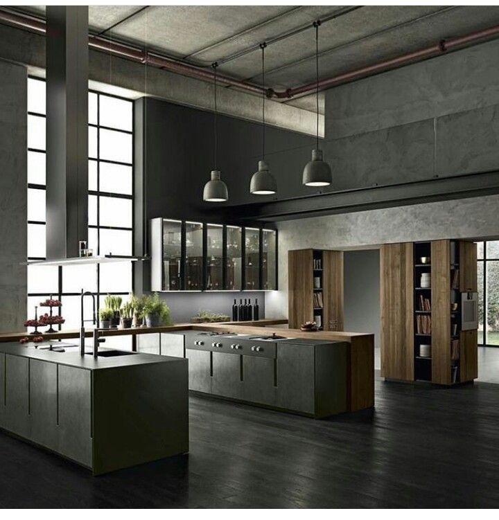M s de 25 ideas incre bles sobre cocinas industriales en for Tiradores estilo industrial