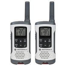 Motorola T260 WHITE RETAIL BOX 26MILE RANGE RECHARG
