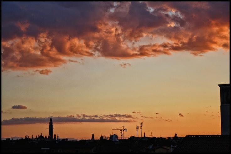 Cremona, Torrazzo, Italy, Sunset, Hometown