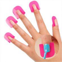 26 Pçs/set Unha Polonês Verniz Protetor Titular Ferramentas de Manicure Dedo Nail Art Dicas de Design de Capa Escudo para UV Unhas de Gel projetos