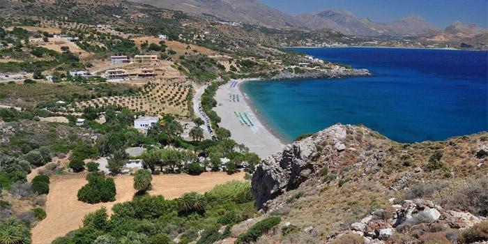 Souda Beach in Plakias, Rethimno, Crete