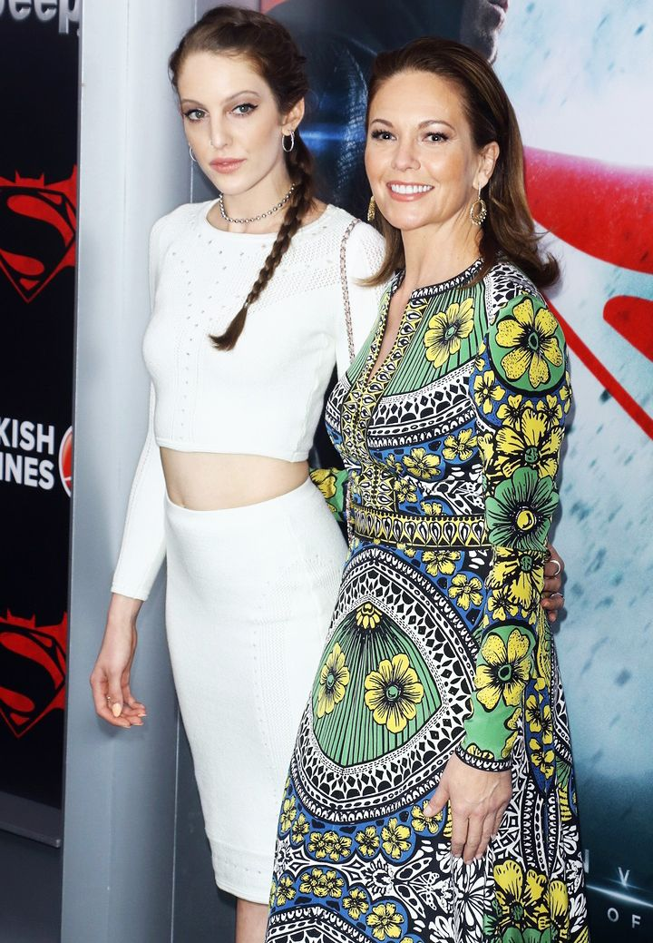 Twins!: Diane Lane Steps Out With Her Lookalike Daughter, Eleanor — See the Pic!