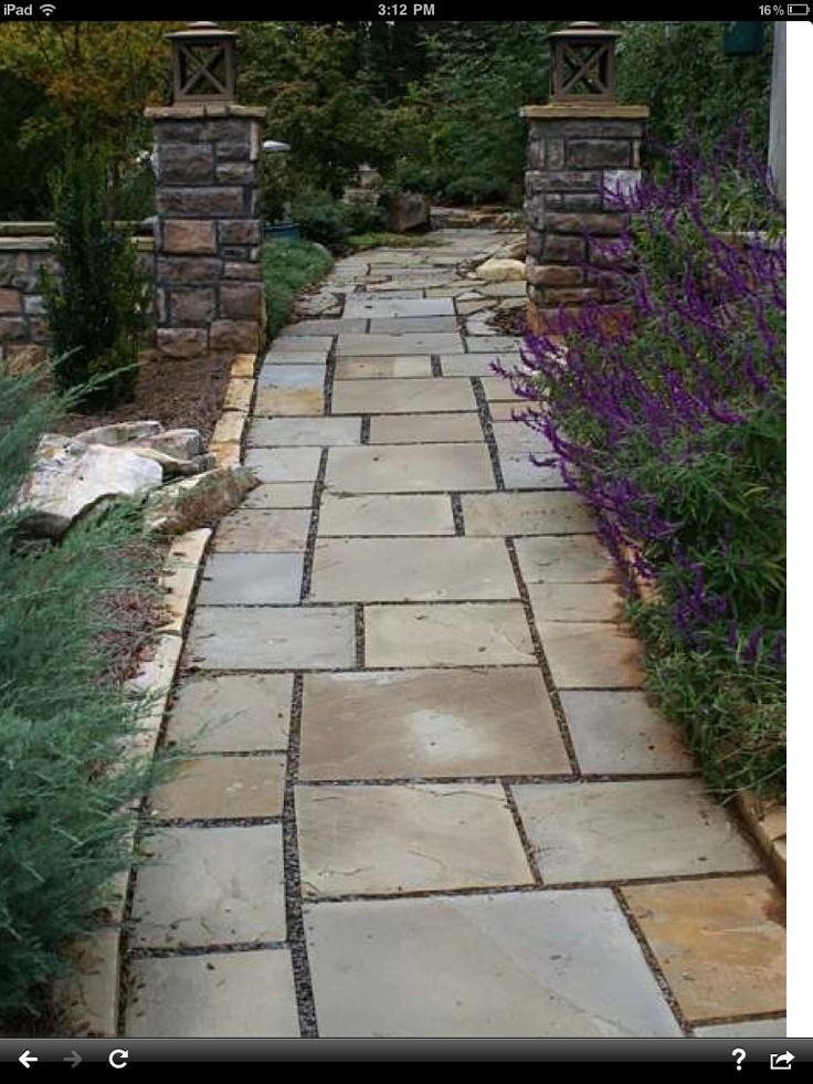 Pavers Walkway To Backyard