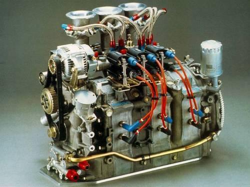 Mazda rotary race engine