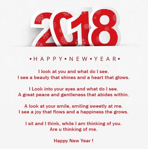 If You Are Looking For Love Poems To Wish Her Or Him On This New Year 2018  Then Here You Will Find The Best Collection Of Happy New Year 2018 Romantic  Poems ...