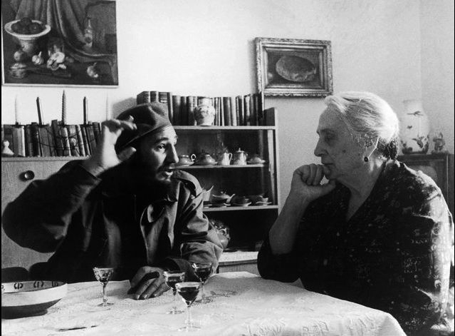 Fidel and Dolores Ibárruri by Alberto Korda