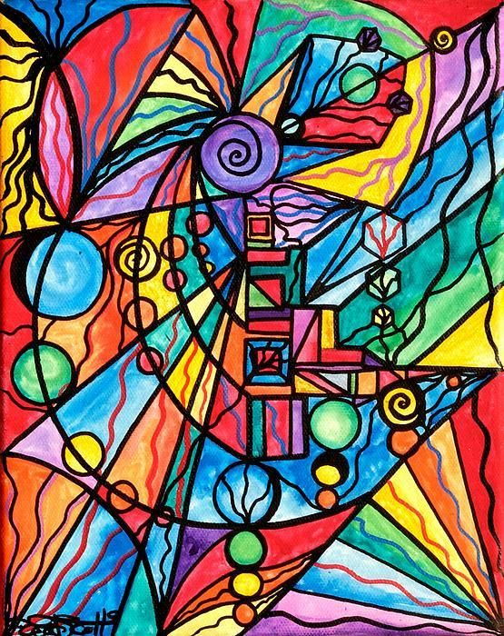 Lyra - Frequency Paintings - Teal Swan