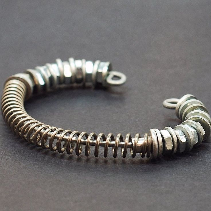 Industrial Jewelry Hardware Bracelet by ~Tanith-Rohe on deviantART