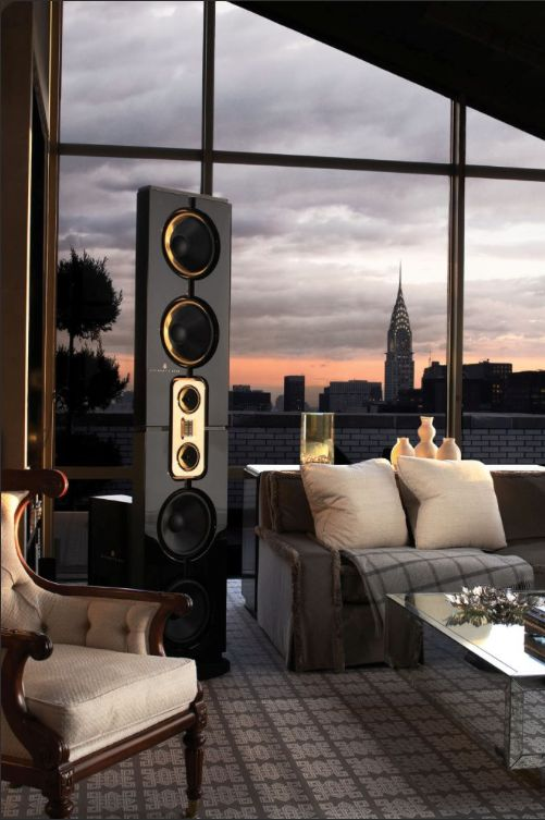 ♣ Luxury HOME Design ♣  Steinway Lyngdorf's sound Installation in a New York penthouse apartment.
