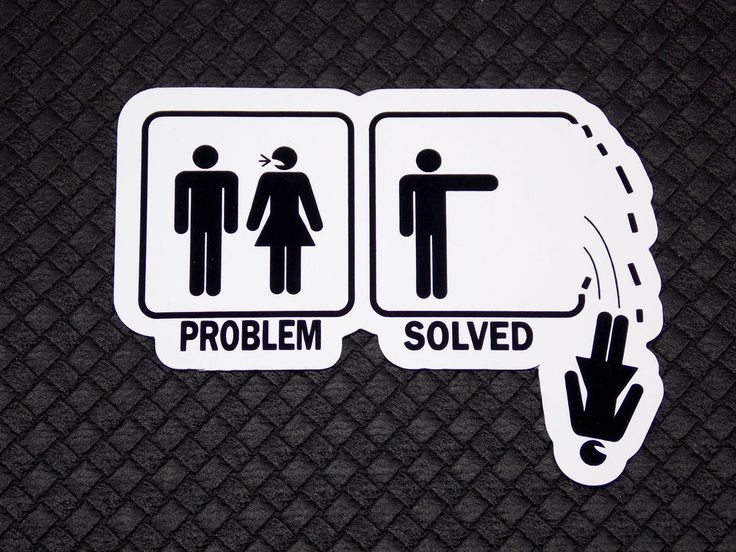 Problem Solved Funny Flexible Fridge Refrigerator Magnet Unique Gift by Osarix