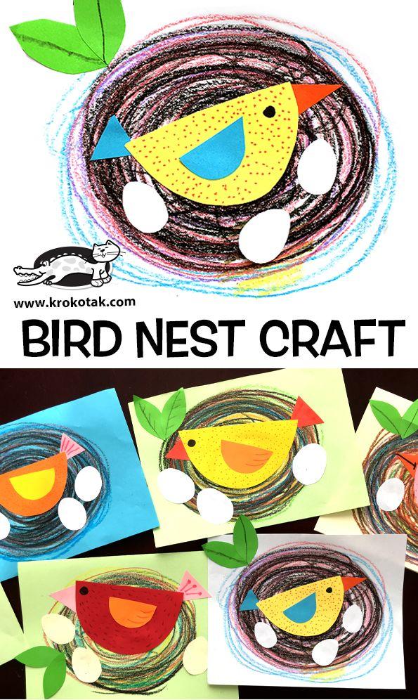 BIRD NEST CRAFT (krokotak)