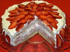 tort cu capsuni poza 13