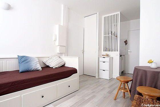 Location studio Paris 11° (Passage Gustave Lepeu)   Meublé 19 m² Bastille