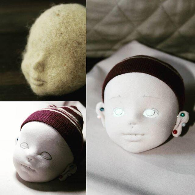 WEBSTA @ ponaroshko - Мое кукольное начало. Поехали!#кукла #интерьернаякукла…