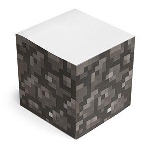 Minecraft sticky note block!!!