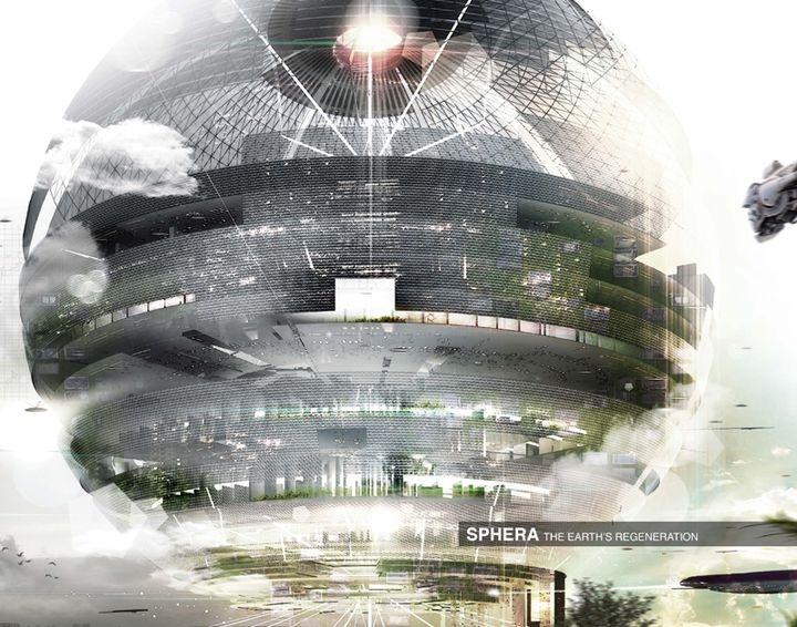 sphere skyscraper