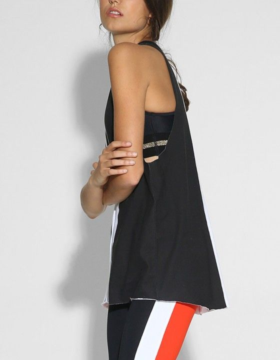 All Star Tank - White/Black
