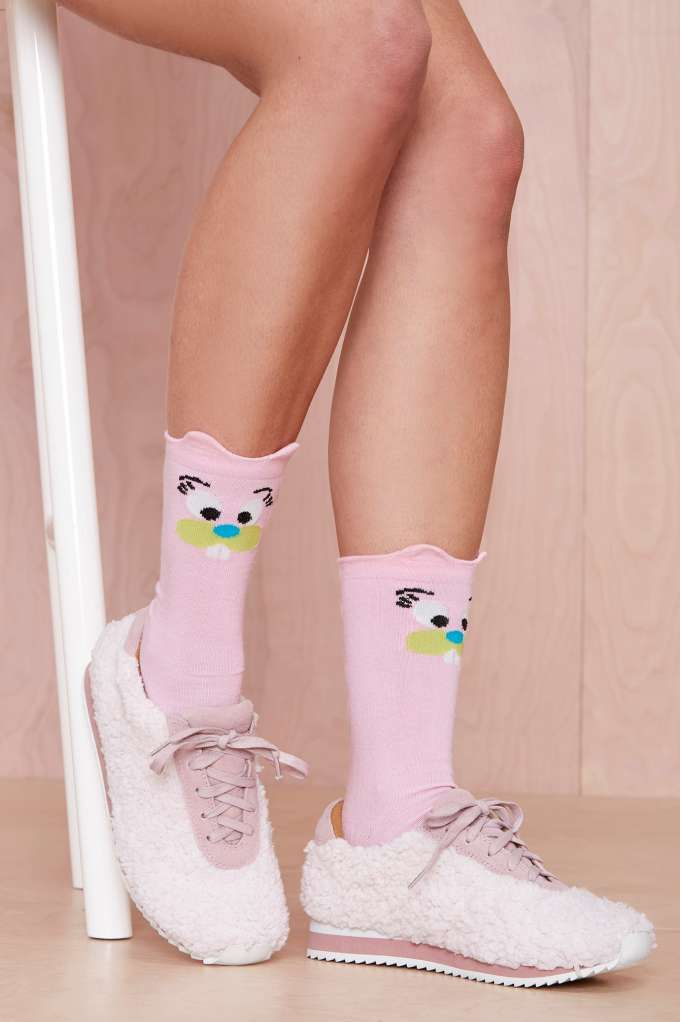Lazy Oaf Show Me the Bunny Socks