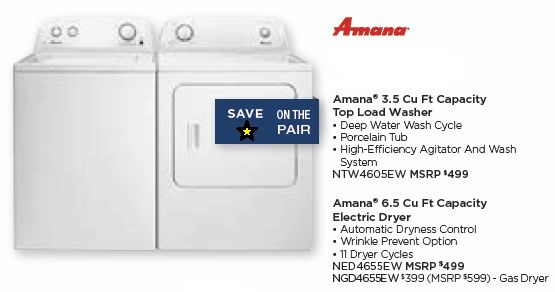 28 best amana images on pinterest fringes refrigerator and amana topload washer electric dryer pair httpallstarappliances fandeluxe Image collections