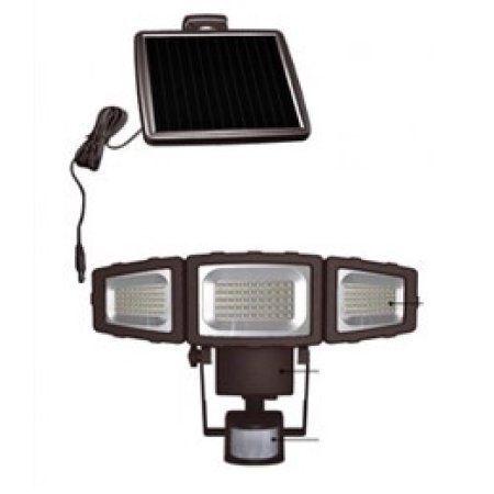 Mainstays 1500L Solar Security Light, Brown