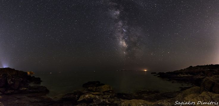 Milky way, Sounio https://www.flickr.com/photos/122931314@N04/18832755912/