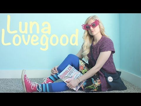 How To Make A Luna Lovegood Costume! Harry Potter Cosplay! - YouTube
