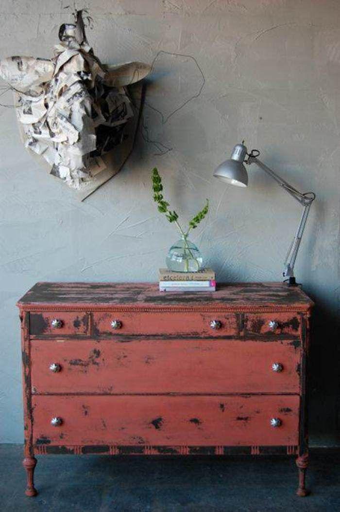 11 pintar muebles de color coral reciclar para decorar for Muebles para reciclar