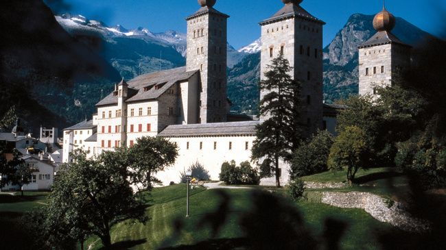 Stockalper Castle - Emblem of Upper Valais - Switzerland