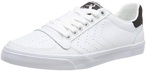 hummel SLIMMER STADIL ACE, Unisex-Erwachsene Sneakers, Weiß (White/Black 9124), 44 EU - http://on-line-kaufen.de/hummel-2/44-eu-hummel-slimmer-stadil-ace-unisex-erwachsene