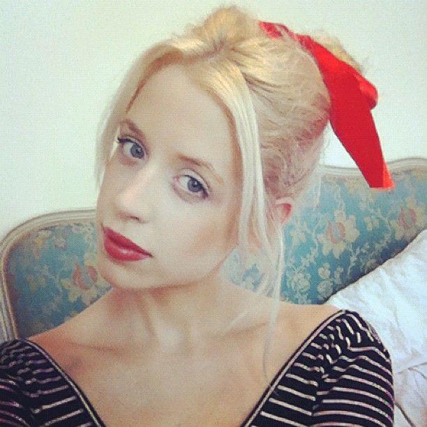Peaches Geldof...loooove her style!
