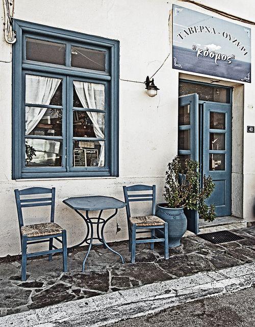 Myrina, Lemnos, Greece  | Local Taverna - Myrina - Lemnos Greece (EM5) | Flickr - Photo Sharing!