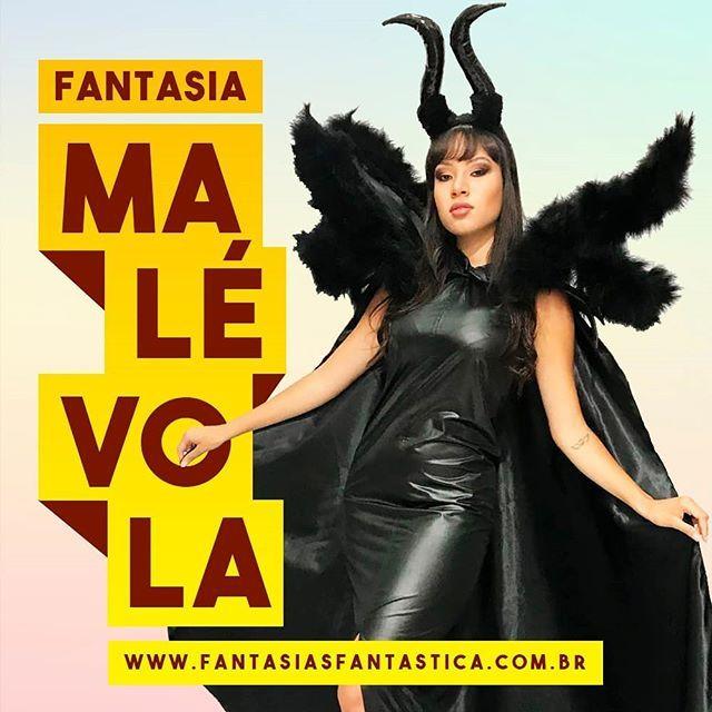 66e9f124ee1e8 ... Femininas de Fantasias Fantástica. Fantasia Malévola Luxo com Capa e  Plumas