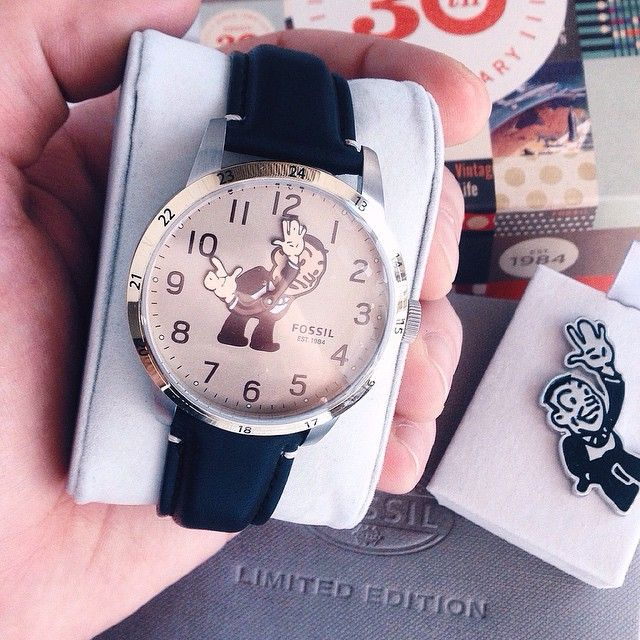 #Fossil 30th anniversary. #fossillifestyle #limitededition