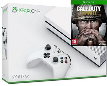Buy Xbox One Console with Call of Duty WWII after viewing deals on here. Compare shops on services: Buy Now Pay Later • Cheapest price • Click & Collect • FREE Next Day Delivery • PayPal checkout • Warranty Plans • Buy in 3-clicks with Fast & FREE UK delivery.