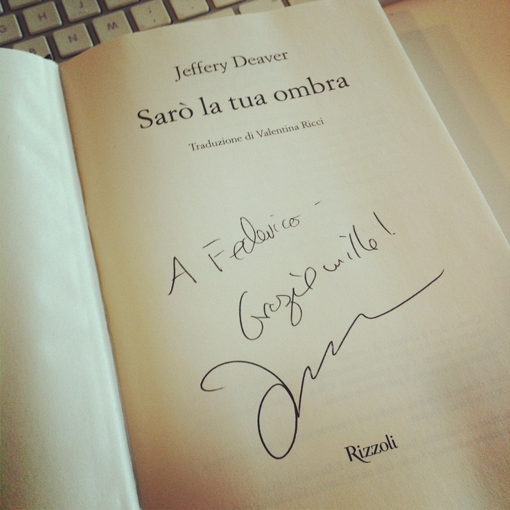 Thank you #JefferyDeaver for a lovely visit (and for signing all those books!)