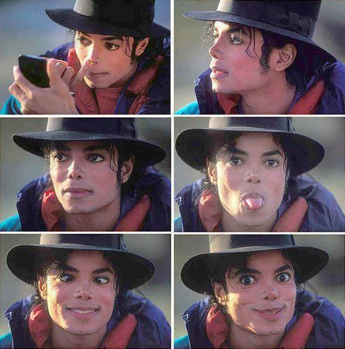 Love his silly faces lol