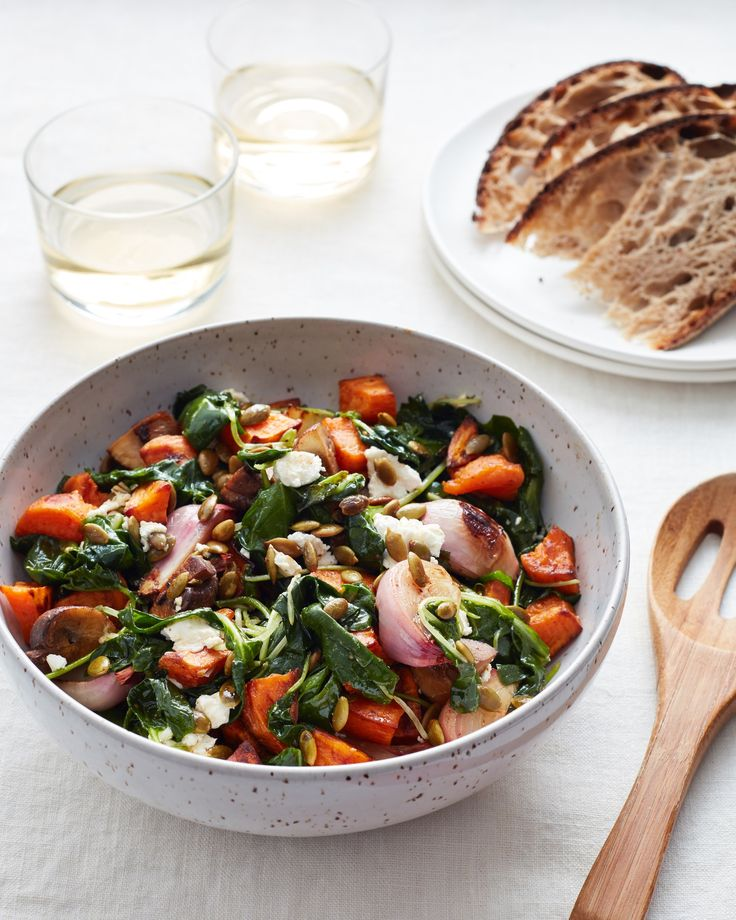 Recipe: Quick and Easy Roasted Veggie Salad — Recipes from The Kitchn #recipes #food #kitchen
