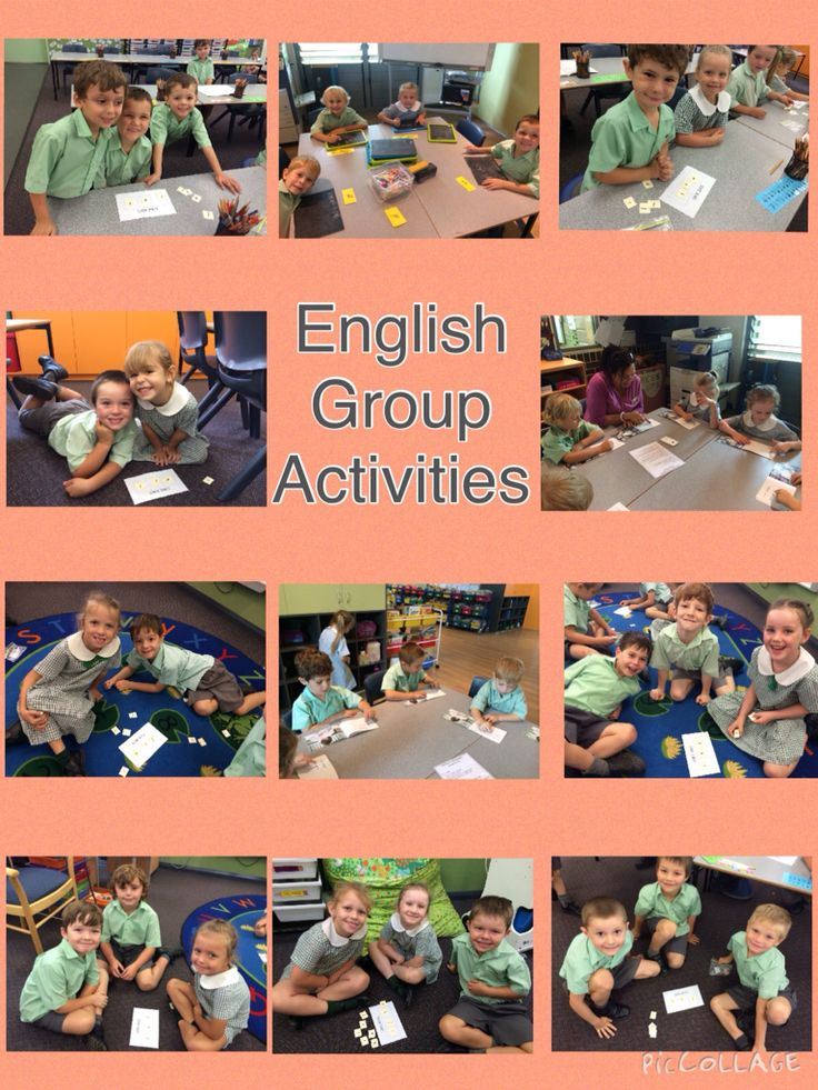 We are learning the skills needed to sound out words, read and write.