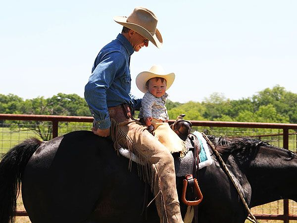 just too darn cute! Ty Murray and Kase