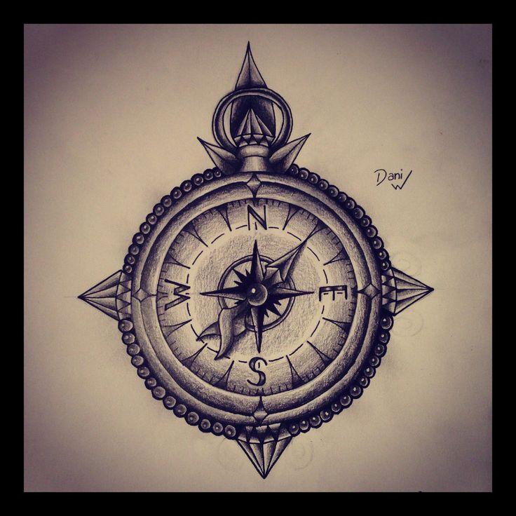Best 25 Feminine Compass Tattoo Ideas On Pinterest