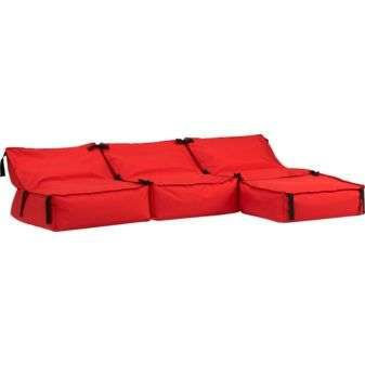 Bean Bag Couches - The Tie-1-On Sofa Looks Like a Giant Life Jacket (GALLERY)
