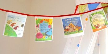 Bookcover bunting