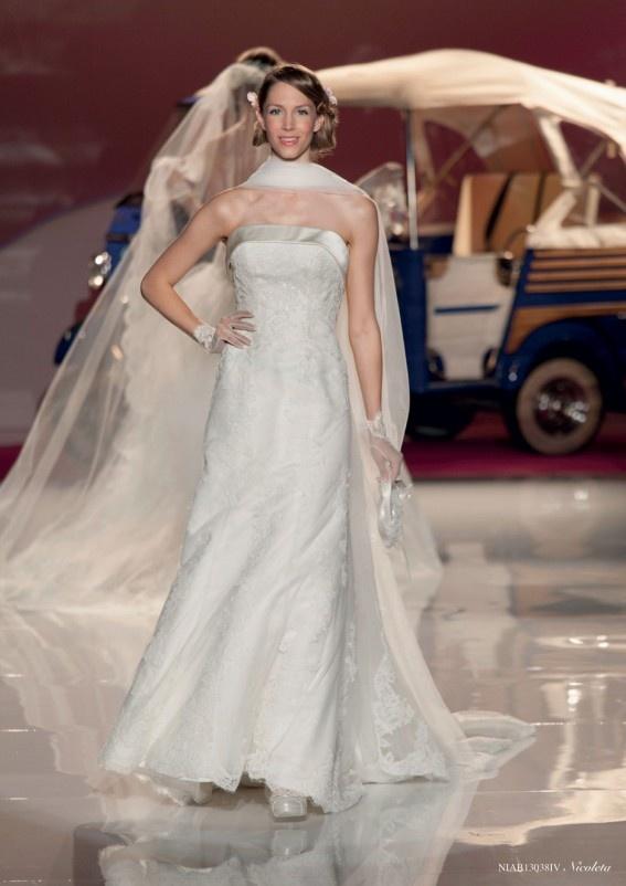 Collezione abiti da sposa #Nicole, abito da #sposa modello Nicoletta