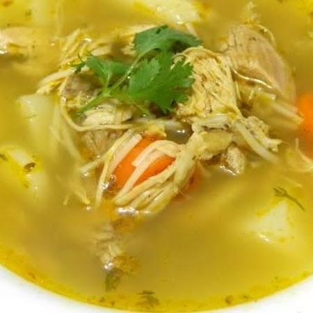 Puerto Rican Chicken Soup ॐ♥ॐ                                                                                                                                                                                 More