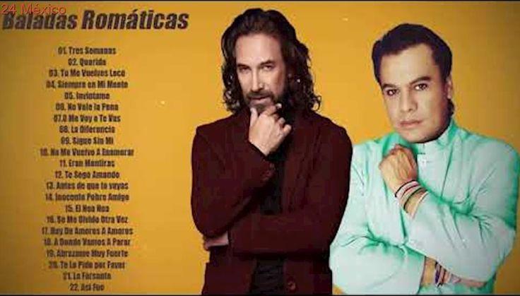 JUAN GABRIEL VS MARCO ANTONIO SOLÍS EXITOS ROMANTICOS - Mejores Baladas Romáticas de  Juan Gabriel