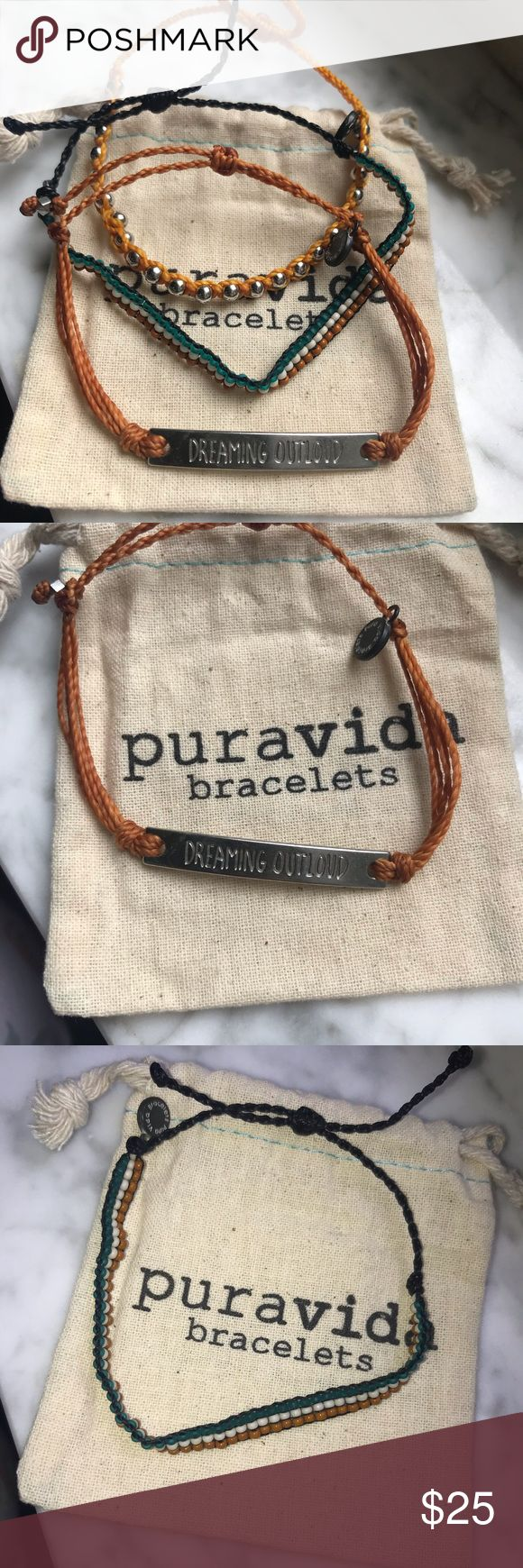 Pura Vida bracelets New without tags. I split up the 2019 Dreaming Outloud Pack … – My Posh Picks