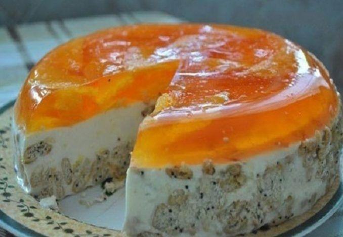 Nepečená pomarančová torta - Receptik.sk