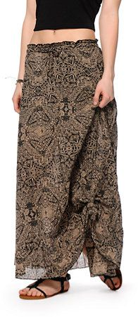 Billabong Fading Too Soon Maxi Skirt