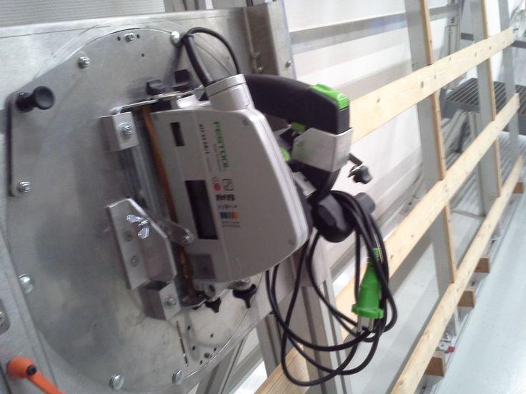 BMI Universal Pladesav med Festool rundsav / BMI Universal panel saw with Festool circular saw - 1